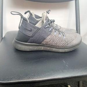 Nike Running sneaker shoe drawstring Grey …